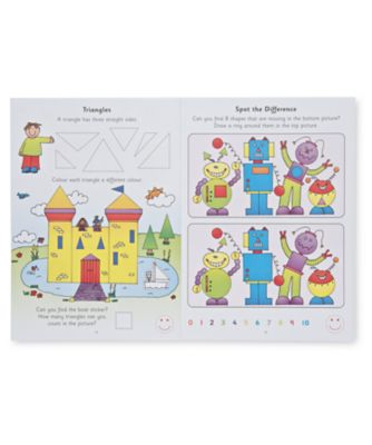 Colour Shapes and Sizes Sticker Book
