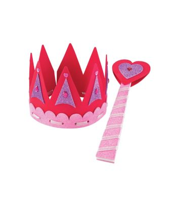 Magical Mimi Make Your Own Crown and Wand