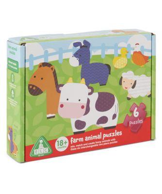 Farm Animal Puzzles
