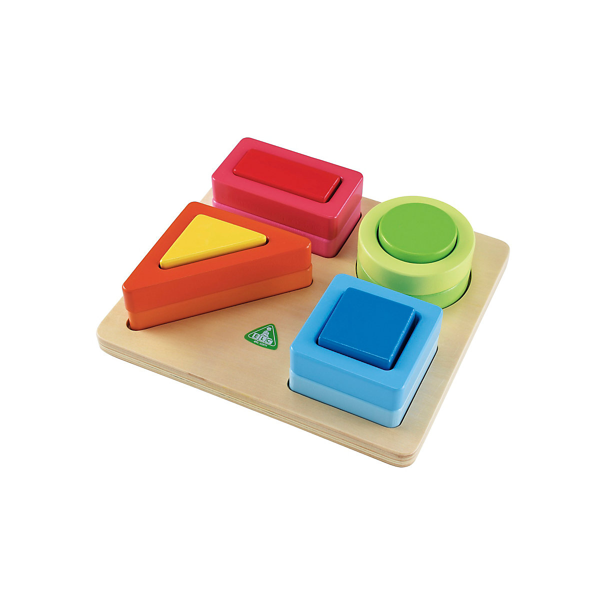 New ELC Boys and Girls Shape Recognition Set Toy From 2 years