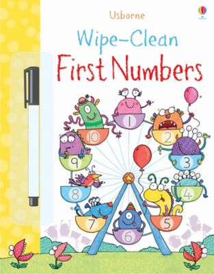 First Numbers Wipe Clean