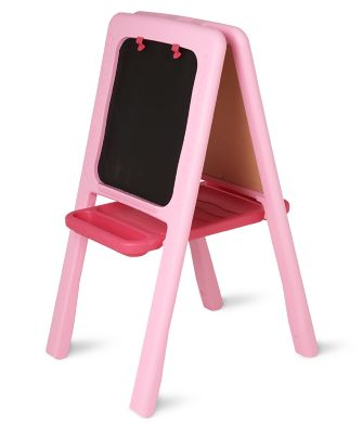 Pink Plastic Easel