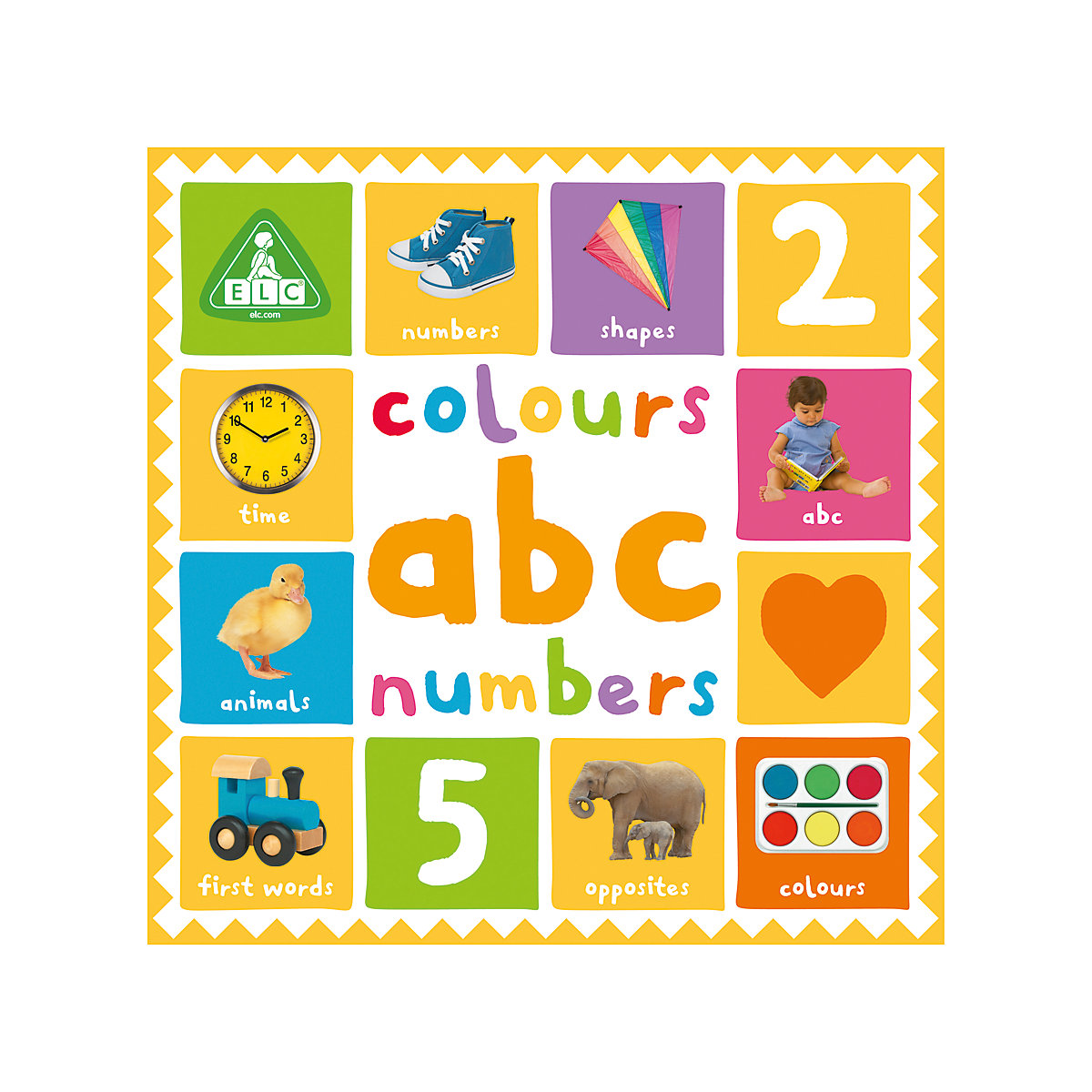 New ELC Boys and Girls First 100 Colours. ABC and Numbers Toy From Birth