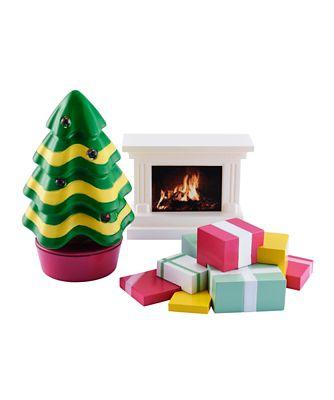 Rosebud Light Up Christmas Tree