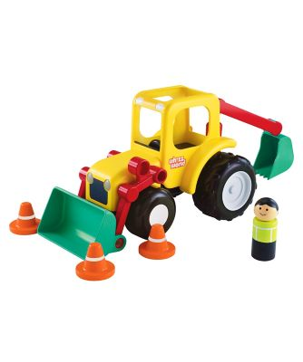 Whizz World Lights and Sounds Digger