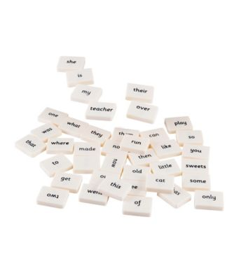 Magnetic Word Tiles