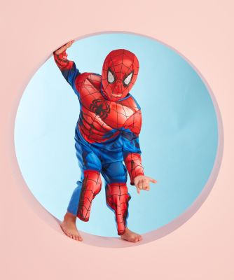 Spiderman Dress Up Costume with Mask