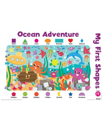 Ocean Adventure - My First Shapes Wall Chart