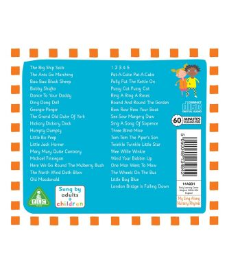 My Sing Along Nursery Rhymes CD