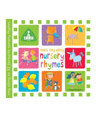 More Sing Along Nursery Rhymes CD