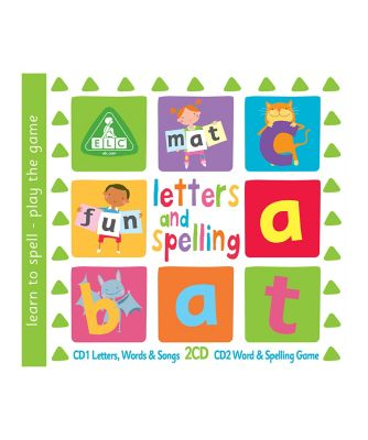 Letters and Spelling CD