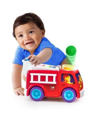 Bright Starts Having a Ball Roll & Pop Fire Truck