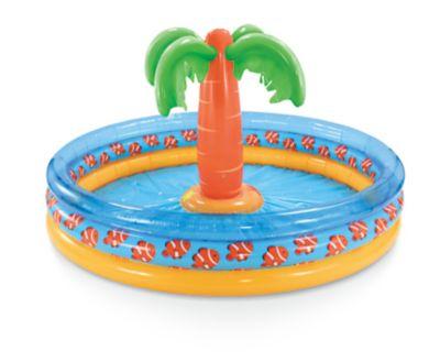 Palm Tree Island Pool