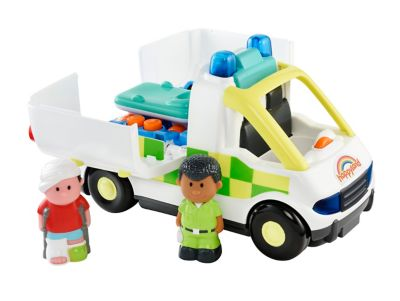 Happyland Lights and Sounds Ambulance