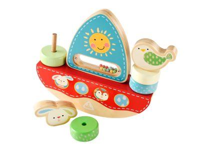 Wooden Balance Boat