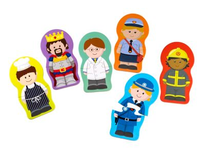 Happyland Mix and Match Puzzles
