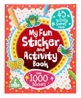 Sticker and Activity Book