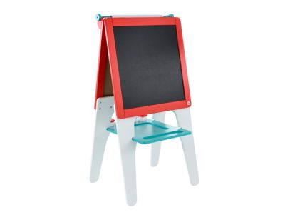 Double Sided Wooden Easel - Blue
