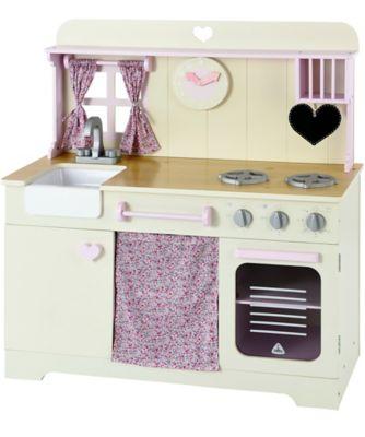 Wooden Pastel Kitchen