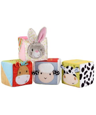 Blossom Farm Touch and Feel Cubes