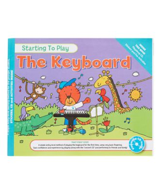Starting To Play The Keyboard Book and CD
