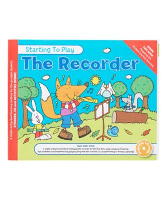 Starting To Play The Recorder Book and CD