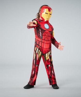 Marvel Avengers Iron Man Dress Up - age 5-6 years