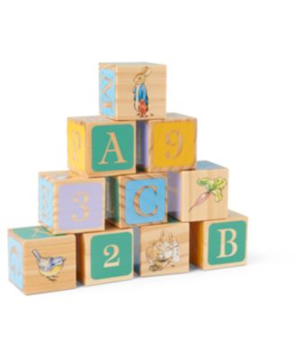 Beatrix Potter Peter Rabbit Wooden Picture Blocks