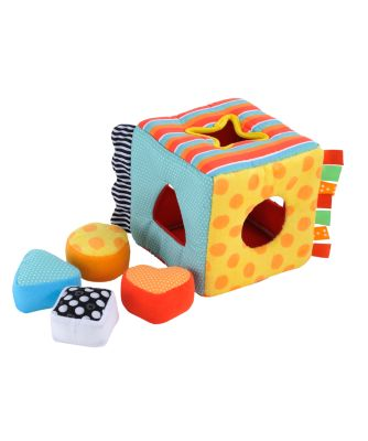 Mothercare Baby Safari Fabric Shape Sorter