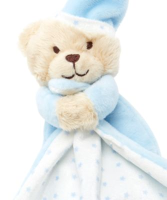 Mothercare Bedtime Bear Blue Blankie