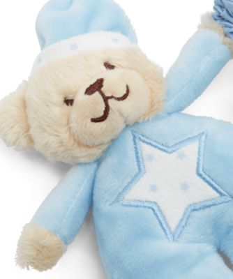 Bedtime Bear Blue Musical Pull