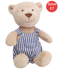 Teddy With Stipes - Mothercare