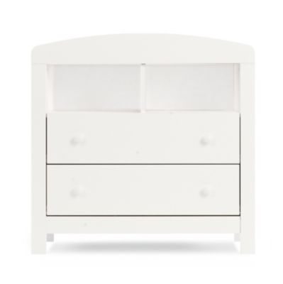 mothercare padstow changing unit porcelain white
