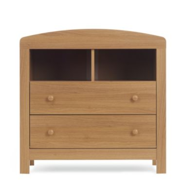 mothercare padstow changing unit oak effect