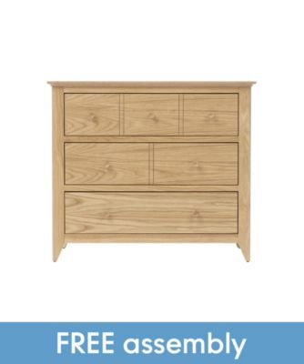 mothercare knightsbridge dresser with free delivery and assembly