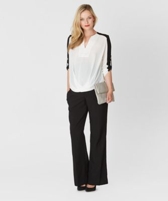 Maternity Over The Bump Bistretch Trousers