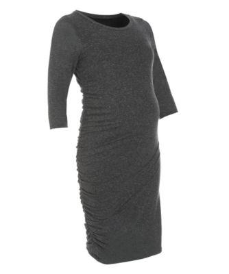 Charcoal Maternity Dress