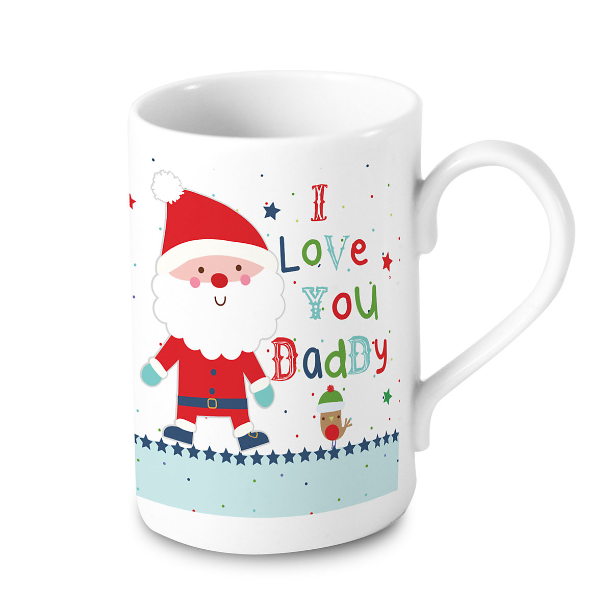 Personalised Daddy Santa Mug