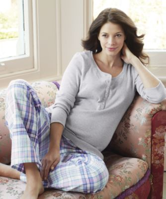 Maternity Check Pyjamas