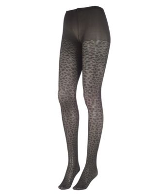 Leopard Spot Maternity Tights
