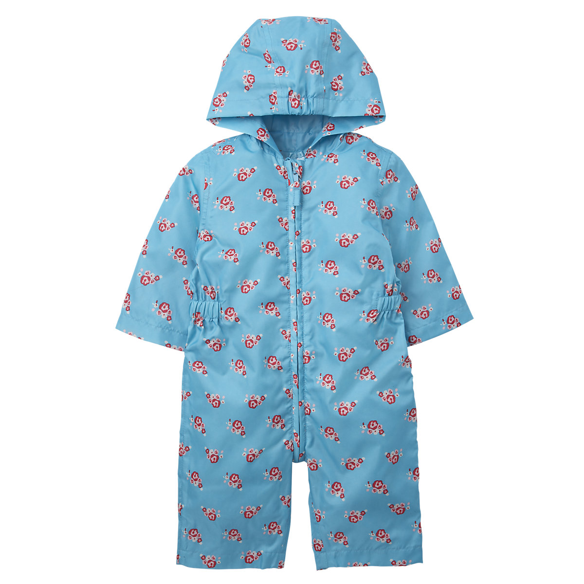 Mothercare-Baby-Newborn-Girls-Floral-Puddlesuit-Rain-Coat-Jacket-Jacket