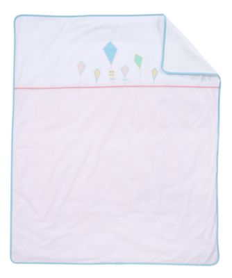 mothercare butterfly fields cot/ cot bed coverlet