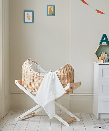 Mothercare Peter Rabbit Moses Basket