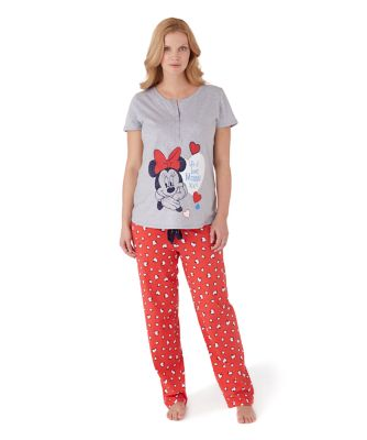 Disney Maternity Minnie Mouse Pyjamas Set