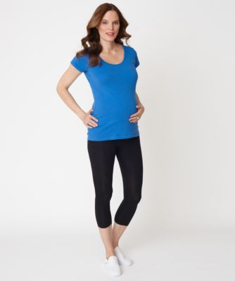 Maternity Blue T-Shirt