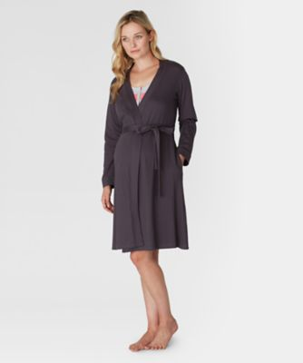 Maternity Charcoal Robe