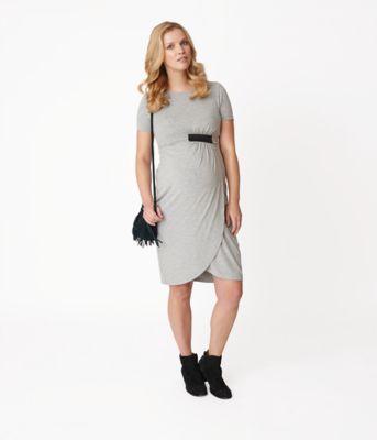 Maternity Tab Elastic Dress