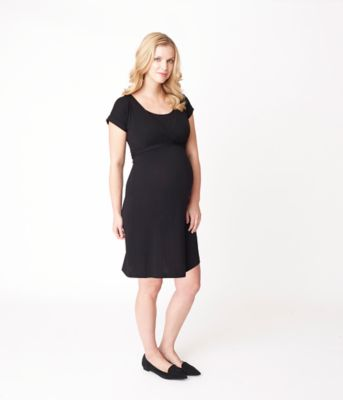 Maternity Wrap Nursing Dress