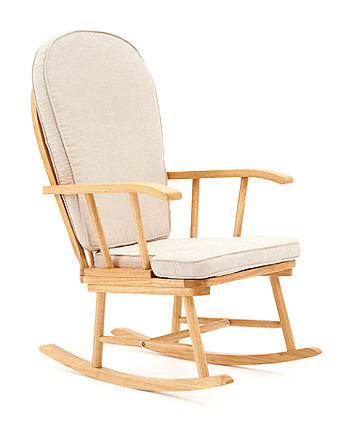 Mothercare Natural Rocking Chair with Beige CushionRocking Chairs   Nursing Chairs   Mothercare. Good Chairs For Nursing. Home Design Ideas