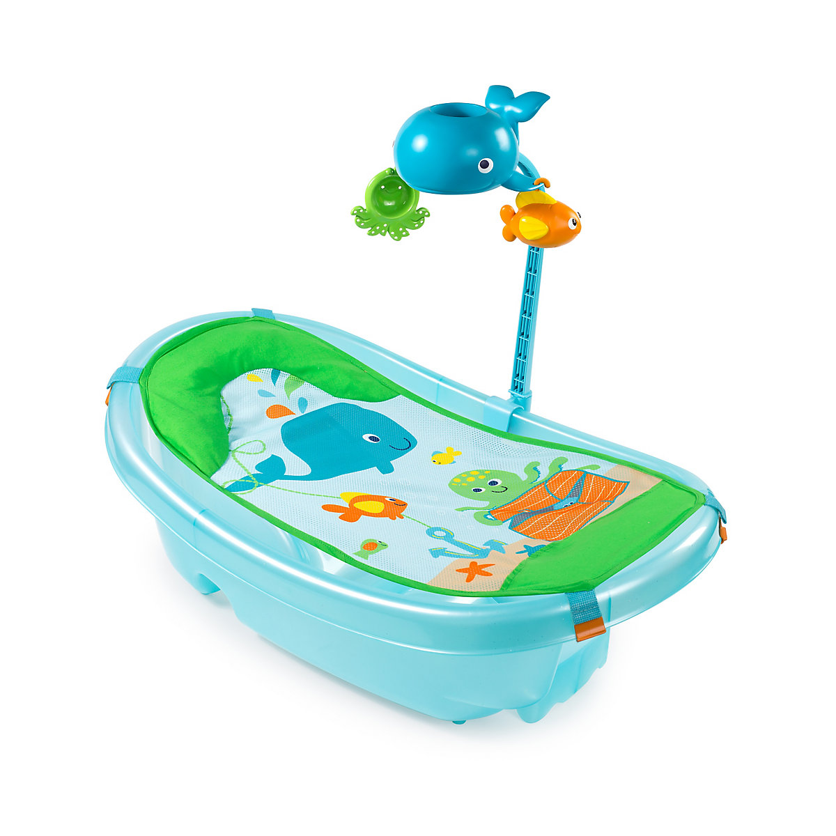 Summer Infant Ocean Buddies Bath Tub - Exclusive to Mothercare
